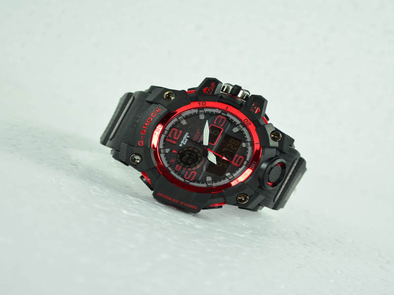 G-Shock Red Black Watch