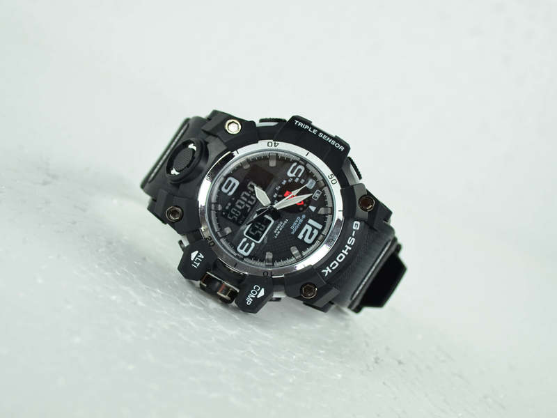 G-Shock White Black Watch